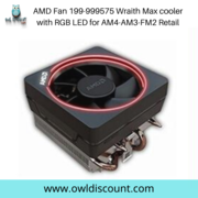 AMD Fan 199-999575 Wraith Max cooler with RGB LED for AM4-AM3-FM2 Reta
