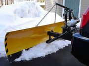 Superplow - Unique Rear Hitch Mounted Snow Plow